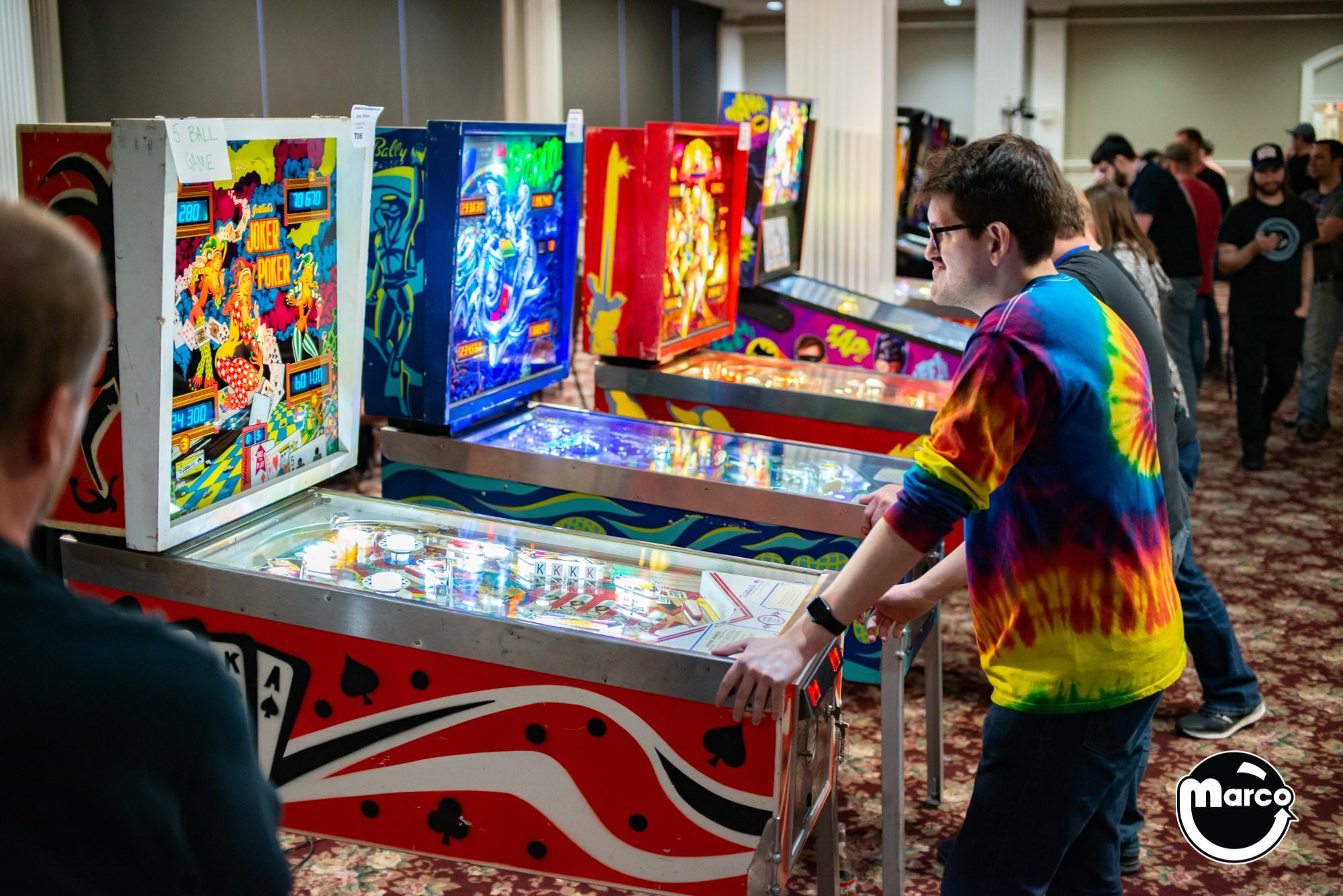 Pinball at Music City Multi Con