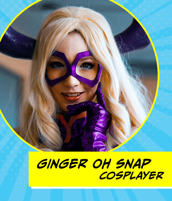 Music City Multi Con Guest - Ginger Oh Snap