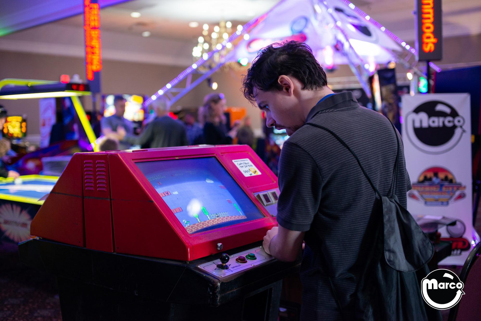 Arcade Games at Music City Multi Con